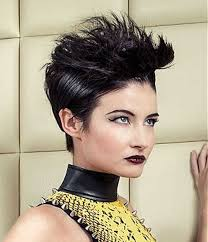 spick hair sytle for black women asian women shor spiky hairstyles best haircut style