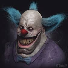 jack the clown halloween horror nights krusty the clown by wil hughes caricature 3d cgsociety