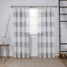 White And Grey Curtains Curtain Curtains White With Gray And Black Tealwhite Grey