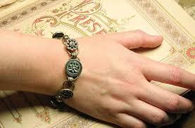 cuff link bracelet images Bourne elements design vintage button and cufflink bracelets jpg