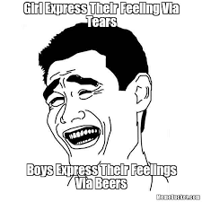 Tears Meme - girl express their feeling via tears create your own meme