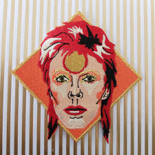 david bowie iron on patch u2013 we built this city
