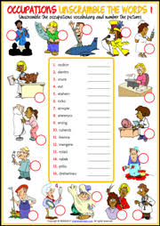 jobs esl printable worksheets and exercises