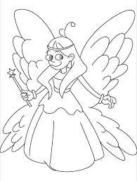fairy coloring pages kids coloring