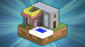 Modern House Minecraft How To Build A Mini Modern House Minecraft Youtube