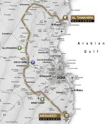 Qatar Route Map by Tour Of Qatar 2015 Route Stage By Stage Cycling Weekly