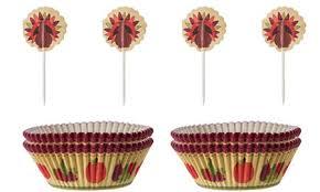 thanksgiving cups thanksgiving baking supplies baking pans baking cups