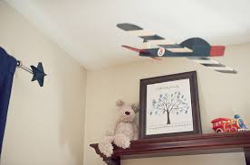red u0026 navy vintage airplane nursery the little umbrella