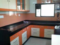 Black Granite Kitchen Platform Design