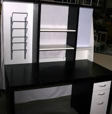 Bureau Ikea Noir Et Blanc - bureau ikea noir blanc clasf