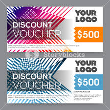 gift card discount creative discount voucher gift card or coupon template layout