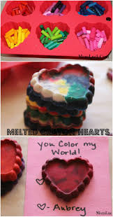 best 25 melted crayon heart ideas on pinterest crayon molds