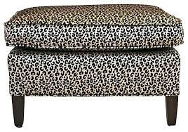 Animal Print Storage Ottoman Extraordinary Storage Ottomans For Sale Leopard Print Storage