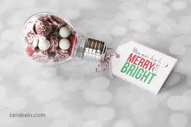 merry and bright gift idea with printable tag landeelu