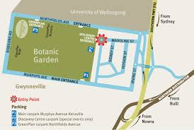 Wollongong Botanic Gardens Contact Us