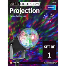 gemmy lightshow multi color christmas lightshow projection dazzling from sears