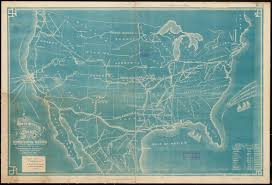 Southwestern United States Map by The Southwestern Railroad System United States And Mexico