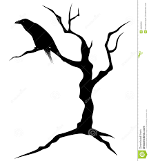 halloween trees halloween tree stock vector image 42830090
