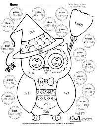 halloween fun worksheets worksheets