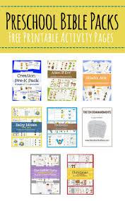 free preschool bible packs u2013 mary martha mama free printable