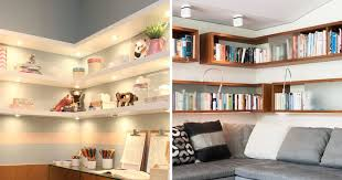 Corner Bookcase Ideas 6 Design Ideas For Adding Corner Shelves To Your Home Contemporist