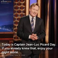 Jean Luc Picard Meme - joke today is captain jean luc picard day if you alrea