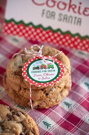 cookies for santa free christmas printables gift u0026 favor ideas