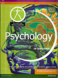 pearson baccalaureate psychology for the ib diploma pearson