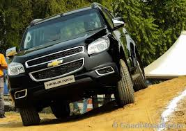 chevrolet trailblazer chevrolet trailblazer launched in india priced at rs 26 40 lakhs
