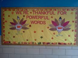 the esol odyssey more bulletin board thanksgiving style