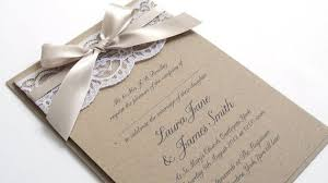 wedding invitations with ribbon wedding invitations with ribbon cloveranddot