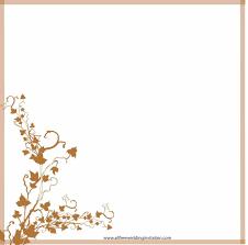 border free printable clip art borders wedding invitation design