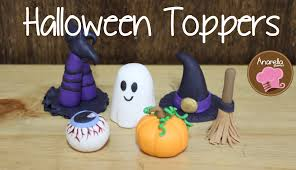 halloween cupcake toppers youtube