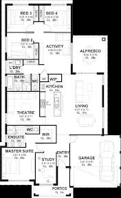 4 bedroom house plan 4 bedroom house plans home designs perth vision one homes