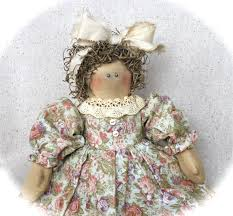 cotton candy dolls country dolls vintage style
