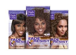 introducing dark and lovely iced coffee hair color collection