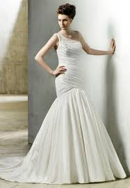 wedding dresses wholesale wholesale taffeta floor length dropped waist beading ruched