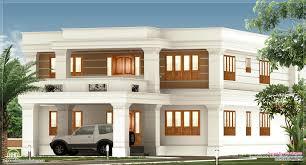 decorative flat roof home plan kerala design and floor plans click 2800 sq feet flat roof villa exterior kerala home design and ft house details home