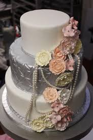 soft pink and silver wedding cake xtra special cakes