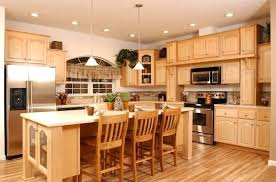 Kitchens With Maple Cabinets Maple Kitchen Cabinet Ideas Kitchen Sink Plumbing