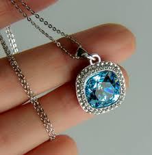 swarovski necklace blue stone images Wearing timeless modern classics gem stone king bermuda blue jpg