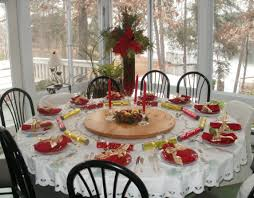 table stunning dining table decor 50 stunning christmas table