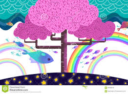 rainbow trout color drawing stock vector image 86110266