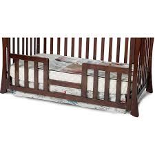 Crib Rails For Convertible Cribs Child Craft Toddler Guard Rail For Parisian Crib Select Cherry