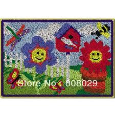 Hand Hooked Rug Kits Rug U0026 Carpet Tile Latch Hook Rug Kits Uk Rug And Carpet Tile