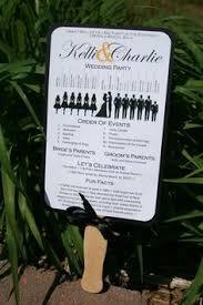 fan style wedding programs program wedding aqua ceremony diy fan non traditional