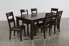 dining room 7 piece sets rocco 7 piece extension dining set living spaces