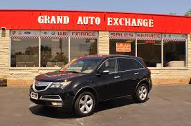 2011 acura mdx black used suv sale