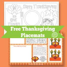 hello wonderful 8 festive free printable thanksgiving placemats