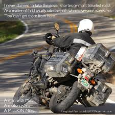 can you ride a motocross bike on the road longhaulpaul a man with ms a motorcycle a million miles